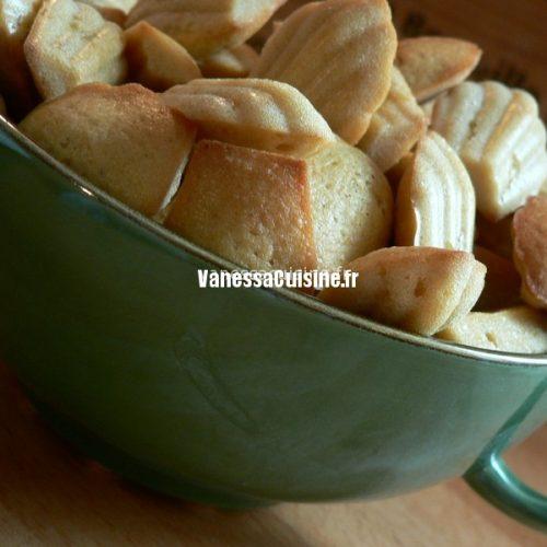 recette de Mini madeleines au sirop d'érable, chicorée et gingembre
