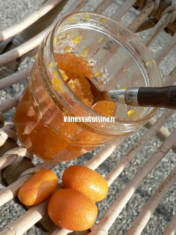 recette de Marmelade de kumquat