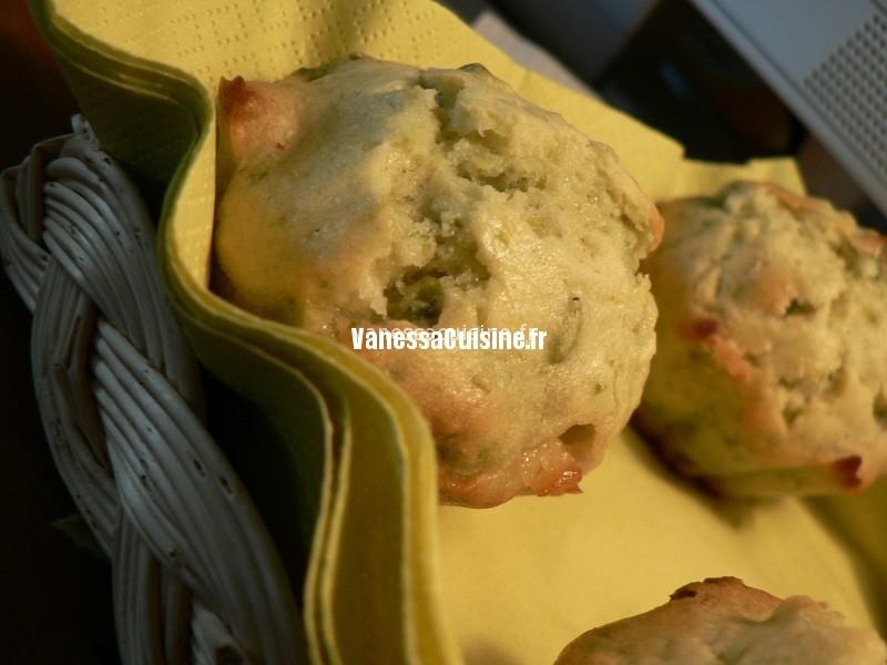 recette de Muffins pistache chocolat blanc
