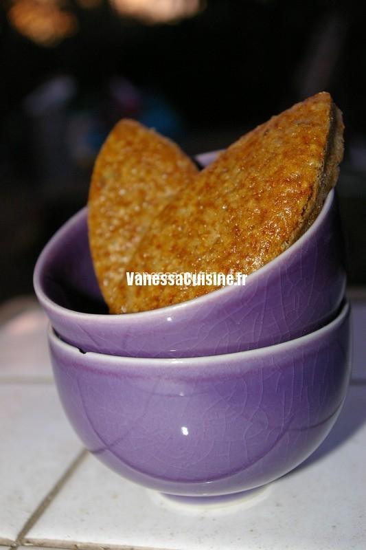 recette de Navettes à la confiture de violette et sirop mûre-cerise