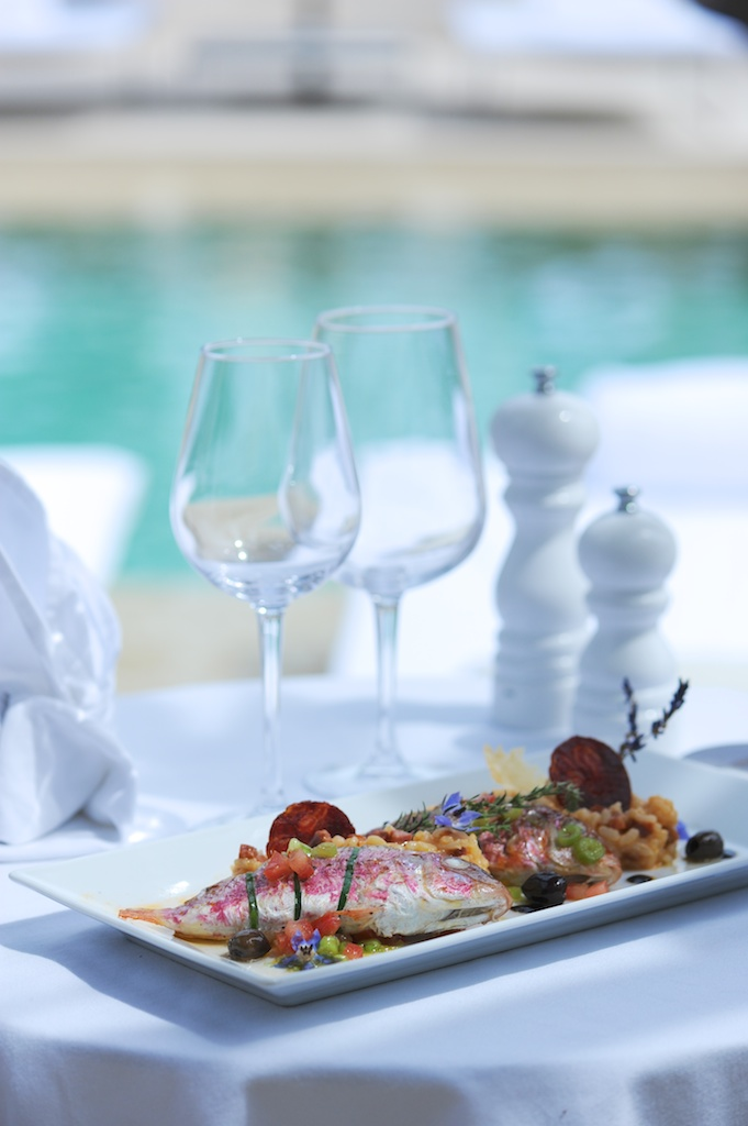 rougets farcis hotel muse saint tropez 1