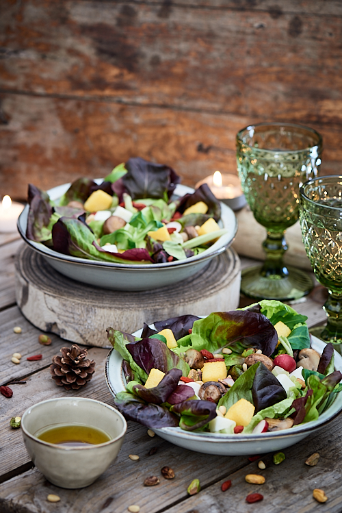 photo culinaire de Salade folle vegetarienne