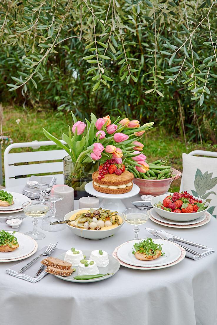 table printemps esprit veggie
