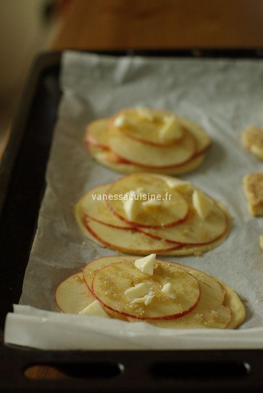 recette de Tarte fine aux pommes