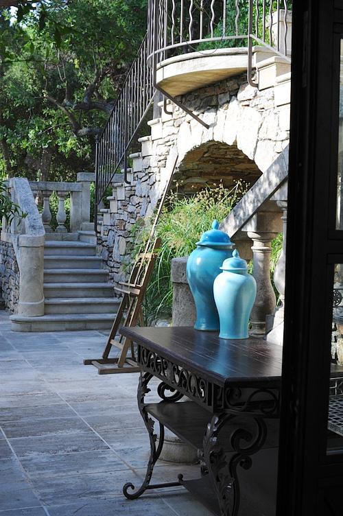 terrasse villa marie