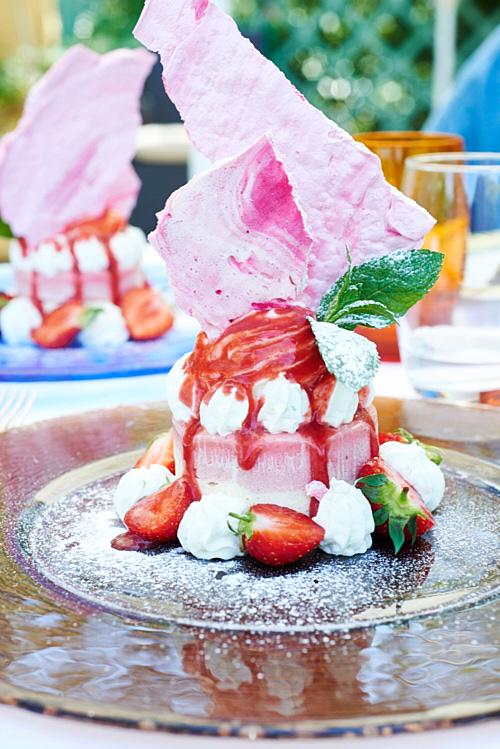 vacherin fraises jardin de sebastien