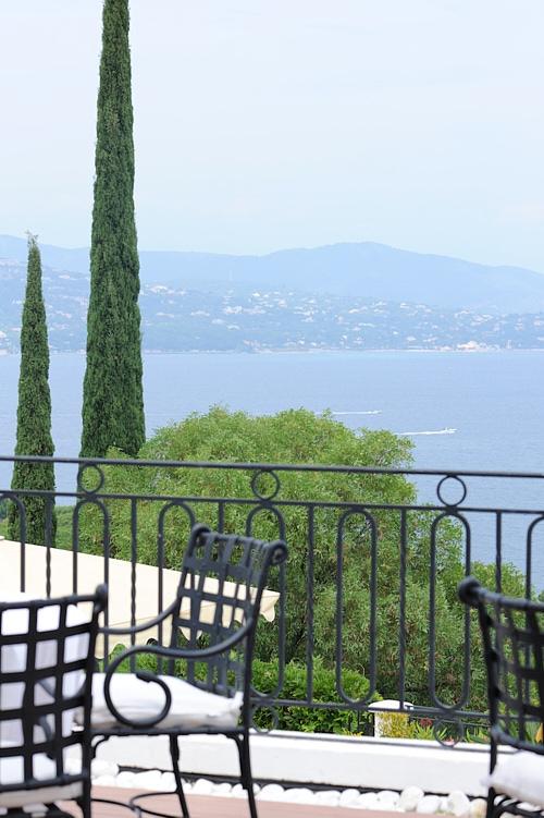 vue terrasse villa belrose