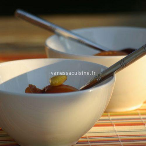 recette de Abricots au vin moelleux