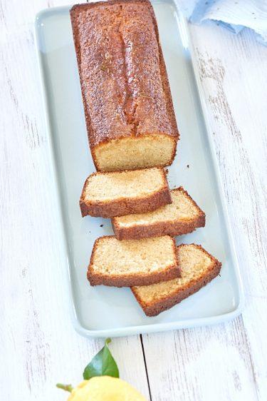 recette de cake au citron de Pierre Hermé