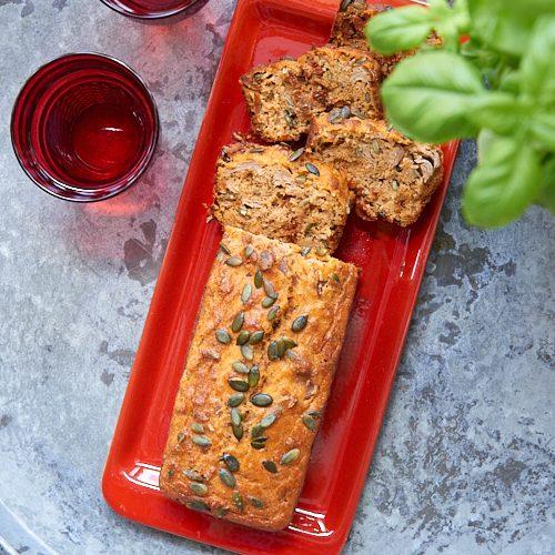 recette de Cake thon et tomates séchées