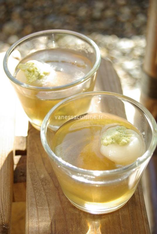 citronnelle litchis creme coco matcha