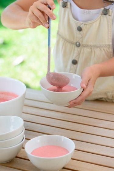 recette de Crème de fraise de Baga
