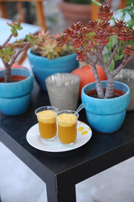 recette de Crémeux à la mangue
