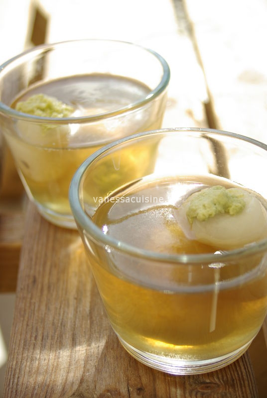 gelee citronnelle litchi coco matcha