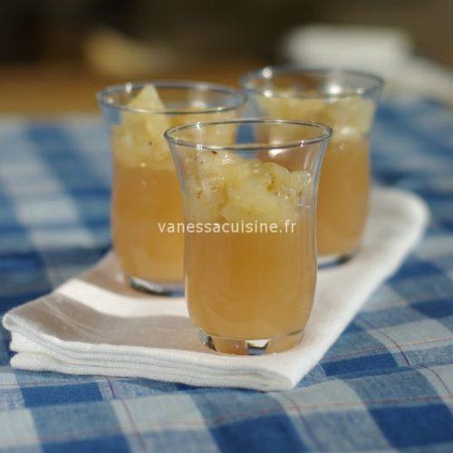 recette de Gelée de Poiré aux poires épicées