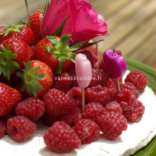 recette de Pavlova aux fruits rouges