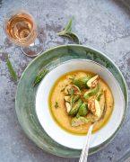 recette de Polenta crémeuse et beurre à la sauge