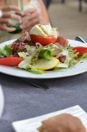 salade chevre frais
