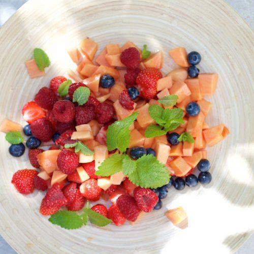recette de Salade de fruits de l'été