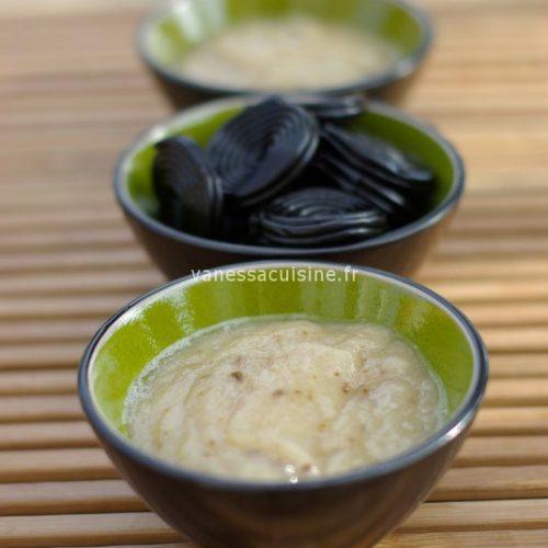 recette de Soupe de poire à la réglisse