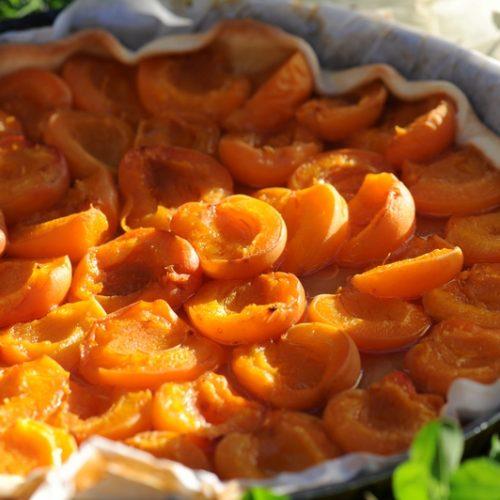 recette de tarte sablée aux abricots