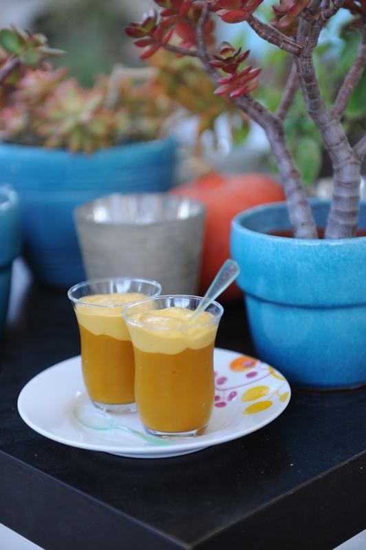 photo culinaire de Crémeux à la mangue