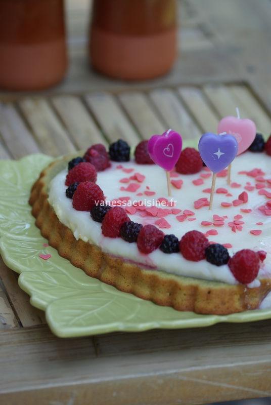 recette de Coeur à la pistache et au chocolat blanc