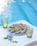 recette de Courgettes farcies au thon et à la mayonnaise