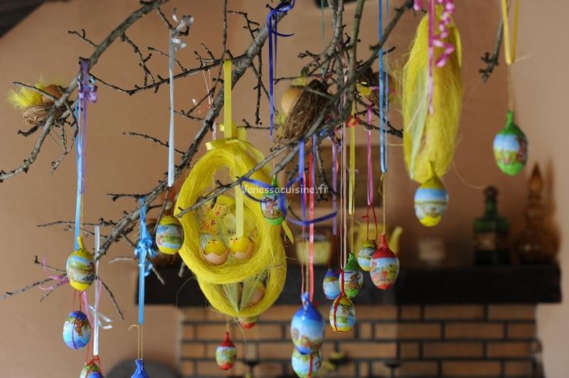 photo de décoration pour Pâques en Provence