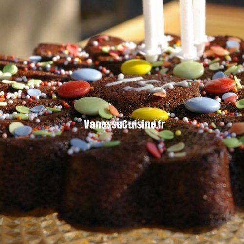 recette de gâteau d'anniversaire au chocolat d'Ysé