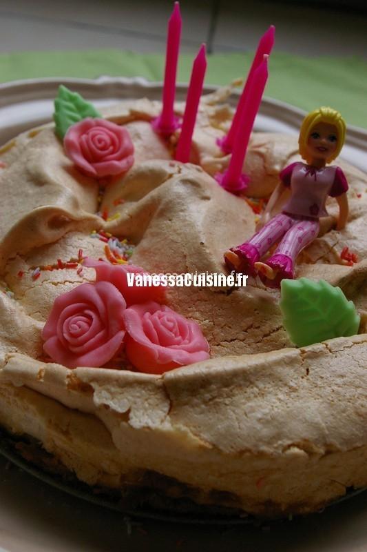 recette de Gâteau d'anniversaire meringué d'Ysé