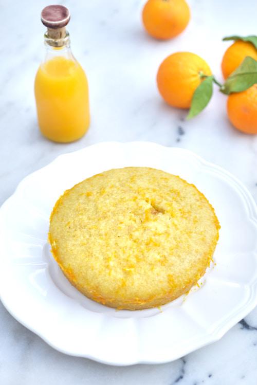 recette de Gâteau très moelleux à l'orange