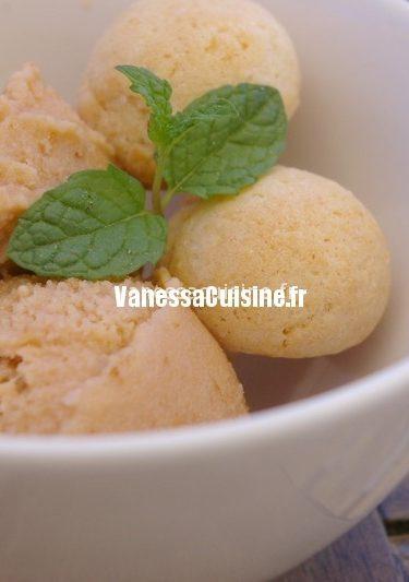 recette de glace abricot et lait de soja