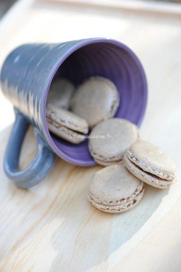 recette de Macarons au cassis