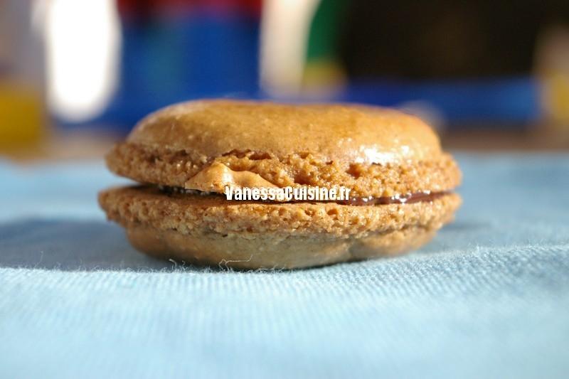 recette de Macarons au chocolat