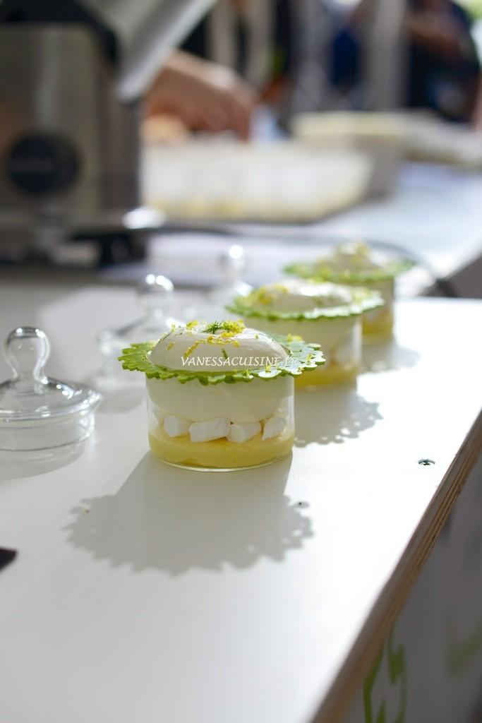 recette de Tarte au citron déstructurée