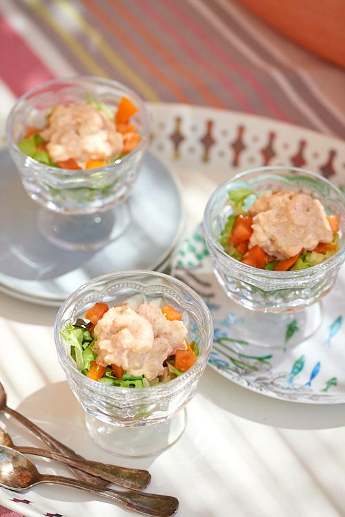 photo culinaire de Cocktail de crevettes