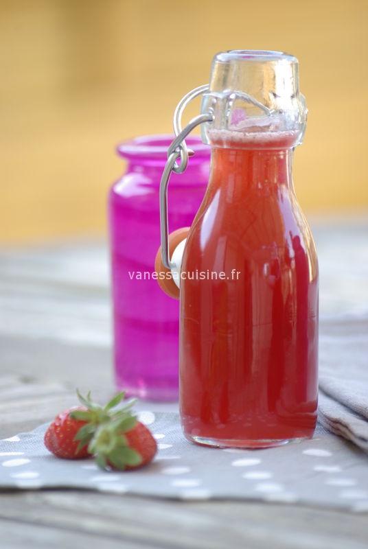 recette de Crème de fraises des bois maison