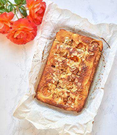 recette de Gâteau aux abricots et aux amandes