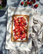 recette de génoise aux fraises