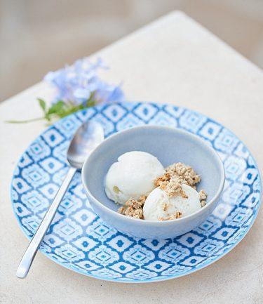 recette de glace au lait de brebis
