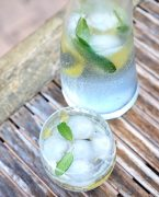 recette de Infusion glacée au citron et à la sauge