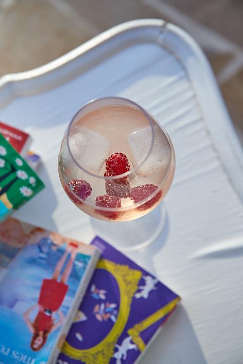 recette de Spritzer rosé framboise