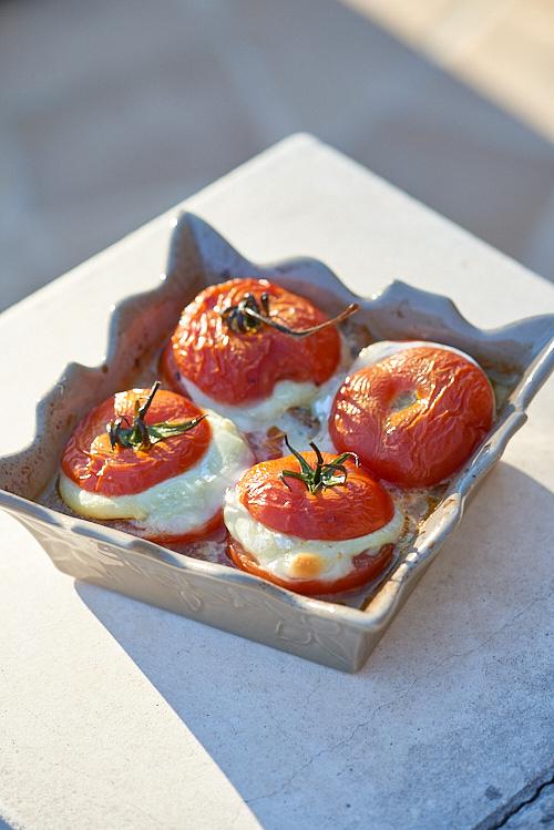 recette de tomates farcies au chèvre frais