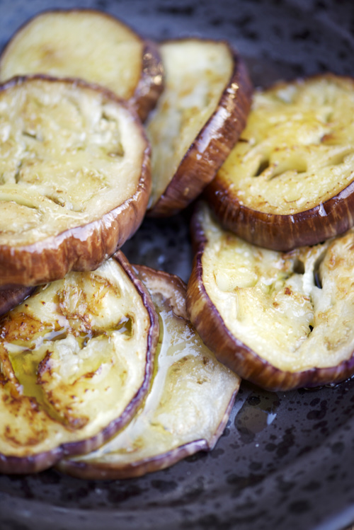 recette d'Aubergines grillées