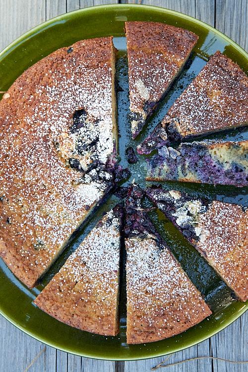 recette de Gâteau à la myrtille sauvage
