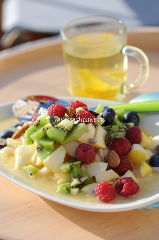photo culinaire d'un petit-déjeuner d'été