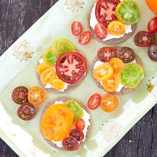 recette de tartelettes à la tomate