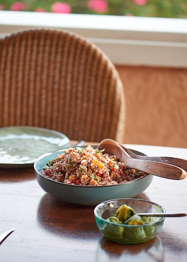 recette de taboulé au quinoa