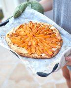 recette de tarte rustique à l'abricot